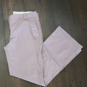 Ann Taylor Loft Mauve Marissa Trousers size 12